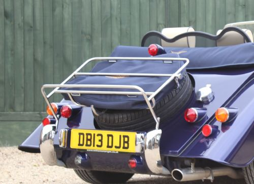 Morgan Luggage Rack with Sidescreen Storage